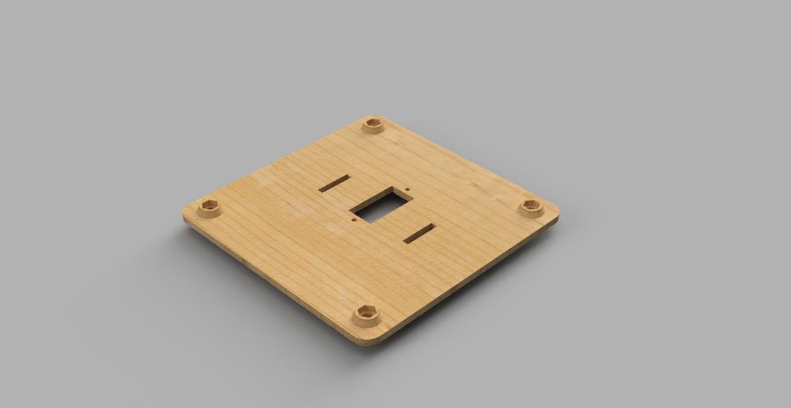 Laser cut wooden parts
