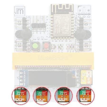 4x Input/Output Port